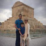 عکسهای خانوادگی پویا امینی در استان فارس!+تصاویر
