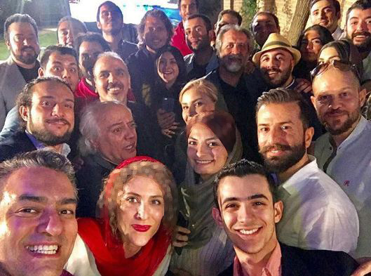 جشن خداحافظی عوامل سریال دیوار به دیوار!