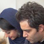امیرعلی نبویان و همسرش در نمایشگاه کتاب تهران!+تصاویر