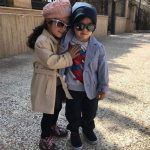 مجید صالحی بازیگر و جدیدترین عکسهای دوقلوهایش!