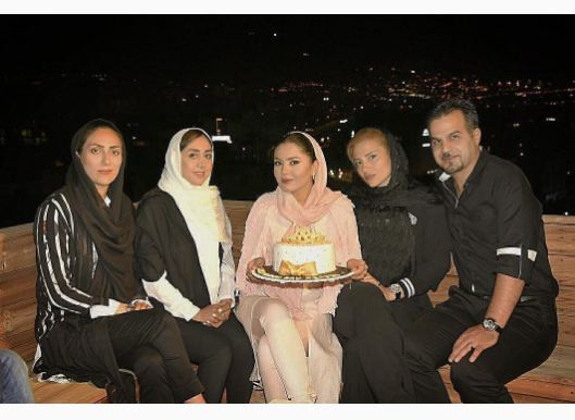 جشن تولد آزاده زارعی
