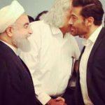 محمدرضا گلزار به رییس جمهور در مراسم افطاری چه گفت؟!