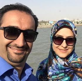 زینب زارع از تجربه اجرا با همسرش نیما کرمی گفت!