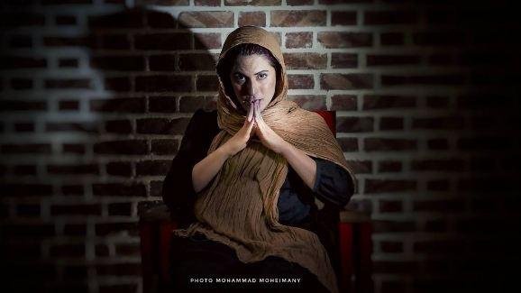 دلجویی بهناز جعفری از خبرنگاران