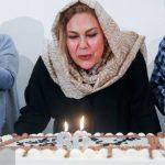 جشن تولد مهرانه مهین ترابی با حضور جمعی از هنرمندان!