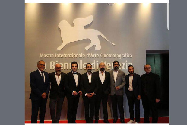نوید محمدزاده در جشنواره فیلم ونیز