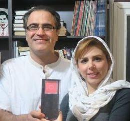 """اکران فیلم """"رهایی"""" بهزاد خداویسی و همسرش در خارج از کشور!"""