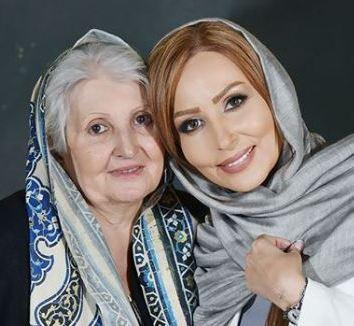 جشن تولد چهل سالگی پرستو صالحی در کنار چهره هایی مشهور!
