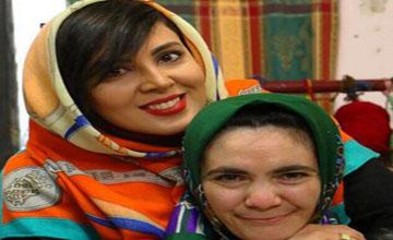 بازدید لیلا بلوکات از آسایشگاه شهید فیاض بخش و همدم در مشهد!