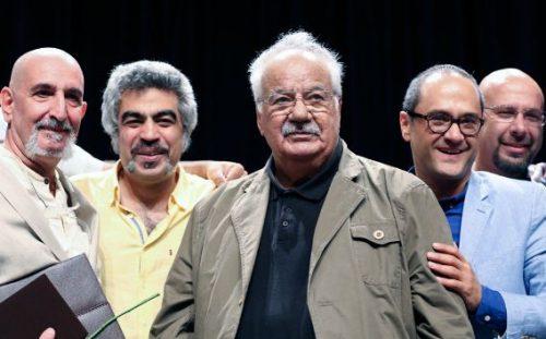 حمایت شهاب حسینی از ملک مطیعی