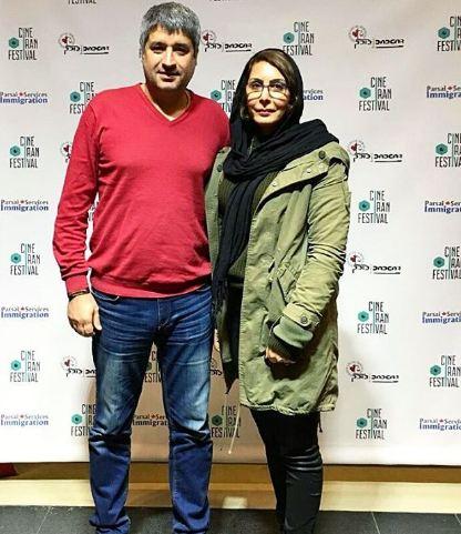 عبدالرضا کاهانی و همسرش