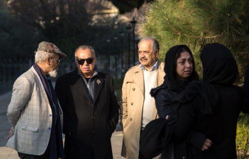 مراسم تشییع علی رامز
