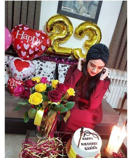 جشن تولد هانیه غلامی