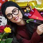 جشن تولد بیست و سه سالگی هانیه غلامی بازیگر سینما!