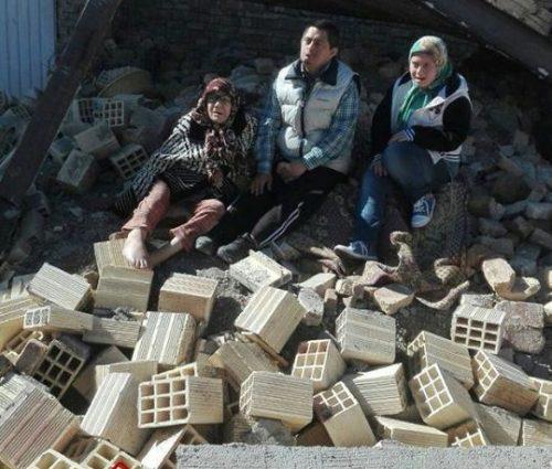 خراب کردن خانه یک مادر در ارومیه