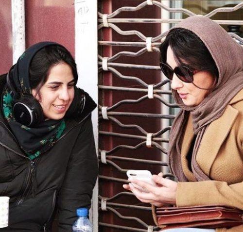 هانیه توسلی در جشن فیلم یزد