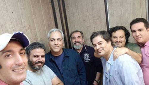 آشتی مهران مدیری با پیمان قاسمخانی