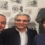 آشتی مهران مدیری با پیمان و مهراب قاسمخانی!
