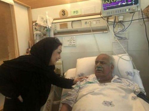 بیماری ناصر ملک مطیعی