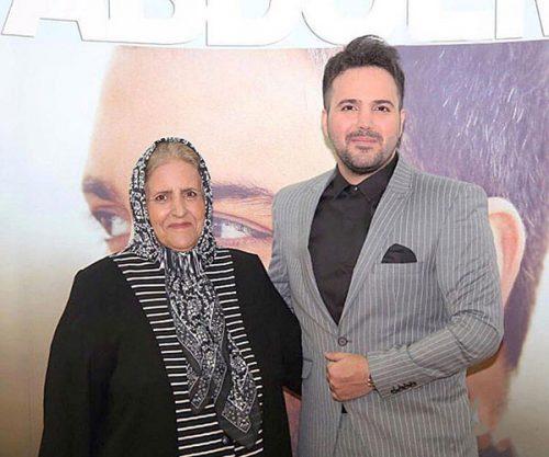 مراسم ختم مادر علی عبدالمالکی