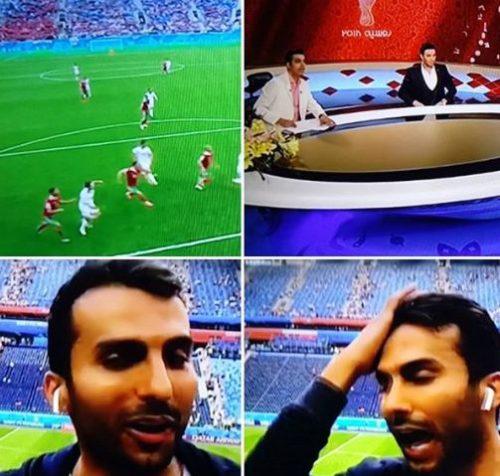 پخش فوتبال از تلویزیون