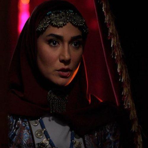 صحبت های مینا وحید بازیگر نقش جواهر درمورد گریم زنان قاجار سریال بانوی عمارت
