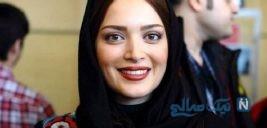 عکس یادگاری بهنوش طباطبایی با جواد عزتی در آتلیه جشنواره