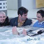 سلفی بازیگر لیسانسه ها در کنار آبشار یخ زده نیاگارا در کانادا
