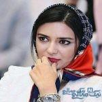 لیندا کیانی بازیگر ایرانی در پشت صحنه فیلم جدیدش + تصاویر