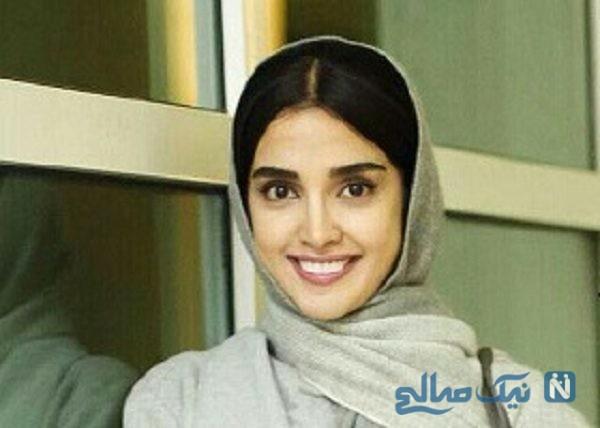 سلفی جدید بازیگر زن ایرانی سریال ممنوعه