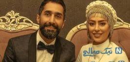 عکس زیبا و پر از انرژی تازه عروس و داماد سینمای ایران