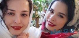 عکس خواهران بازیگر سینما در سواحل شمال کشور