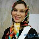 افسانه بایگان بازیگر مشهور ایرانی در نیشابور