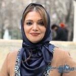 تیپ دانشجو طور الهام پاوه نژاد بازیگر مشهور ایرانی