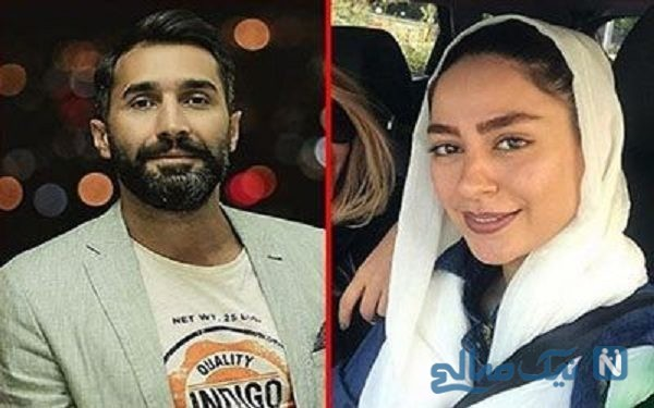 هادی کاظمی و همسرش