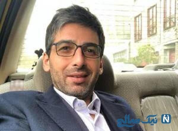 تیپ شیک مجری جنجالی تلویزیون و حمید گودرزی بازیگر ایرانی