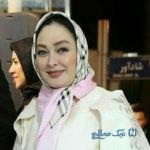 الهام حمیدی بازیگر ایرانی در میان مسئولین سیاسی