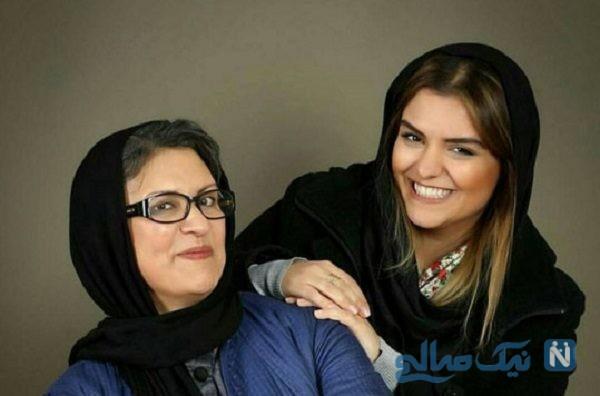 همسر سابق رویا تیموریان و دخترش دنیا مدنی + عکس