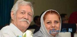 آتش تقی پور و همسرش با تیپی خاص در جشن روز ملی سینما