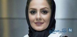 سلفی شنگولی بیتا سحرخیز بازیگر ایرانی در ماشین لاکچری اش