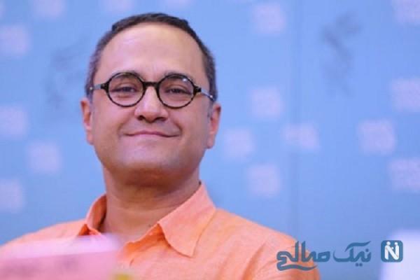 ظاهر جدید رامبد جوان بازیگر ایرانی شکسته تر از همیشه