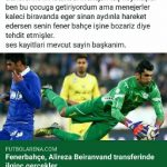 سرانجام انتقال بیرانوند فوتبالیست ایرانی به ترکیه چه شد؟