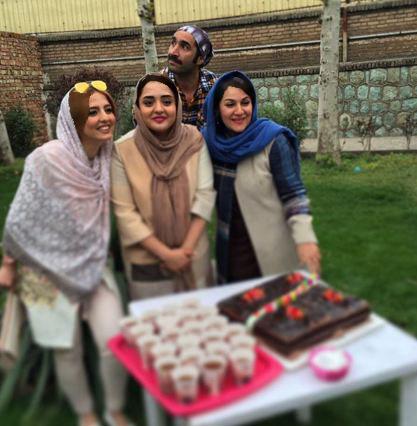 تولدی که ستاره اسکندری برای نرگس محمدی گرفت!+تصاویر