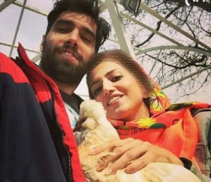 سلفی سیدمحمد موسوی و خواهرش+عکس