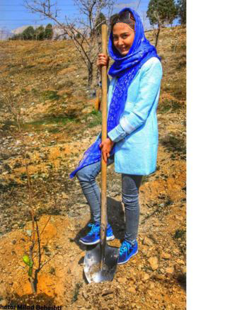 تیپ آبی رنگ مریم معصومی بازیگر زن کشور+تصاویر