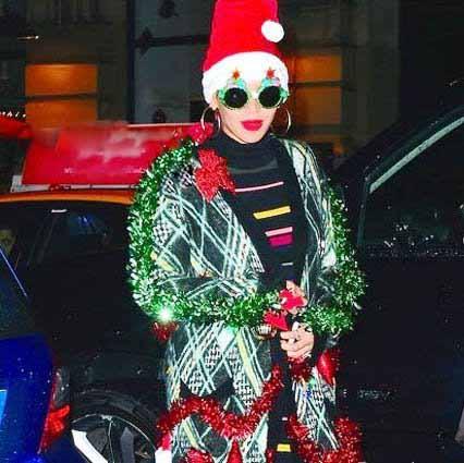 افراد مشهور در در تعطیلات کریسمس ۲۰۱۶+تصاویر