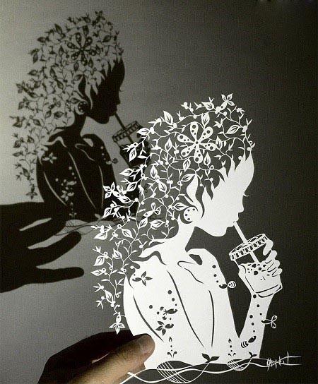 هنر کاغذی با با جزئیات دقیق و بی نهایت پیچیده!+تصاویر
