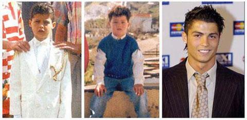 بازیکنان فوتبال در کودکی چه شکلی بودند؟+ تصاویر