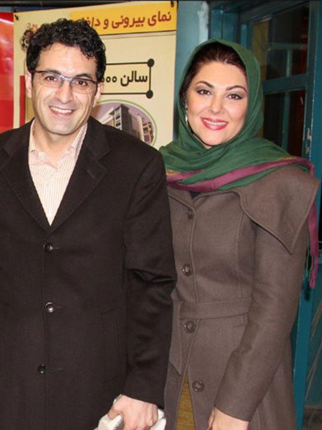 تصاویری دیدنی از لاله اسکندری و همسرش