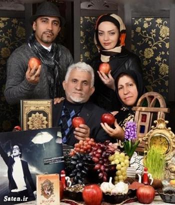 خانواده پاشایی و تازه عروسشان پای سفره هفت سینی که دیگر مرتضی را ندارد+تصاویر